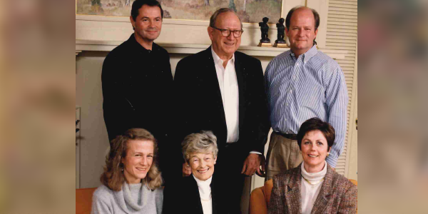 Ruth Paulson and Family:  Imagine yourself a philanthropist